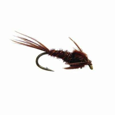 fly fishing nymph, mayfly nymph, weightless trout fly nymph, nymph fly for trout, pheasant tail nymph