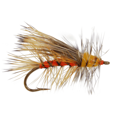 attractor flies for trout, brook trout flies, trout flies, dry flies, stonefly fly patterns, spring trout flies, summer trout flies, stimulator flies for sale, orange stimulator fly