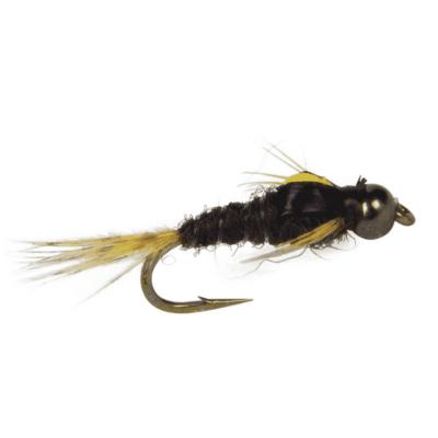 fly fishing nymph, sulphur nymph for trout, split-back nymph, rod champion fly fishing flies, sulphur nymph, bead head nymph