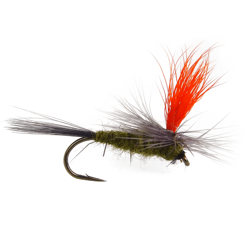 bwo parachute fly, blue winged olive fly pattern, mayfly parachute fly pattern, bwo parachute, blue-winged olive parachute fly, the fly crate april membership