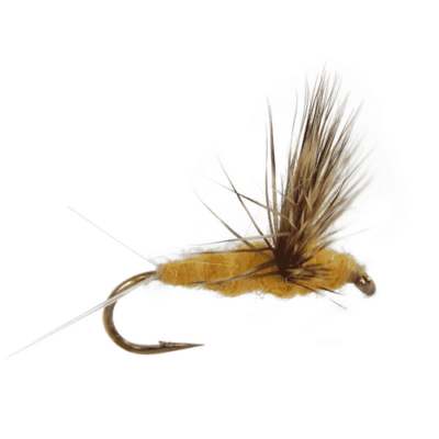 mayfly pattern, sulphur fly, sulphur comparadun, compara-dun fly, trout fly, trout fly for fly fishing, dry fly, dry flies for sale