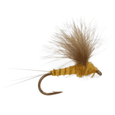 cdc biot, mayfly pattern, sulphur fly, sulphur comparadun, compara-dun fly, trout fly, trout fly for fly fishing, dry fly, dry flies for sale