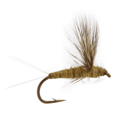 fly fishing flies, blue winged olive fly, comparadun fly, BWO fly, dry fly for trout