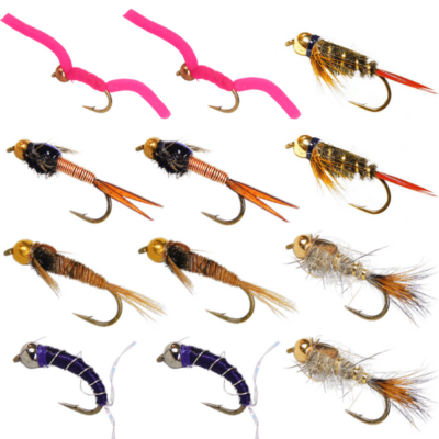 nymph trout flies, fly fishing flies, nymph flies, trout flies for fly fishing, fly fishing with nymphs