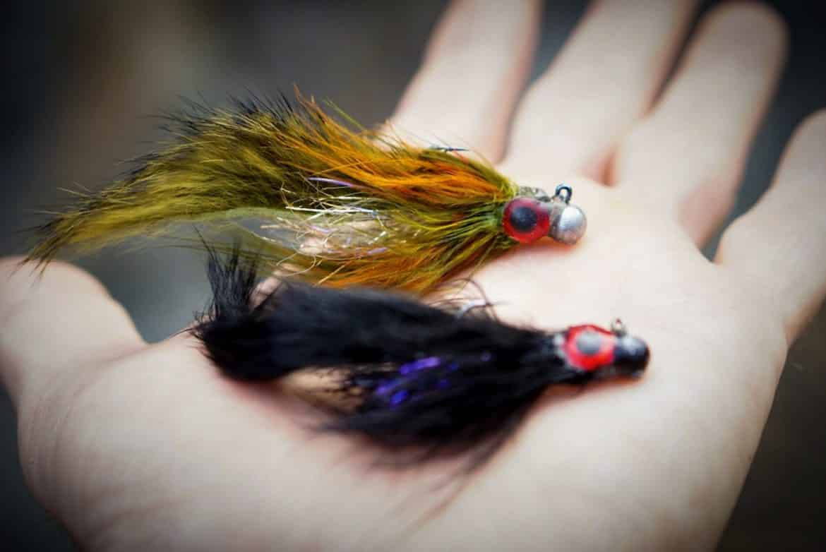 Barr/'s Meat Whistle streamer//jig fly Trout Bass