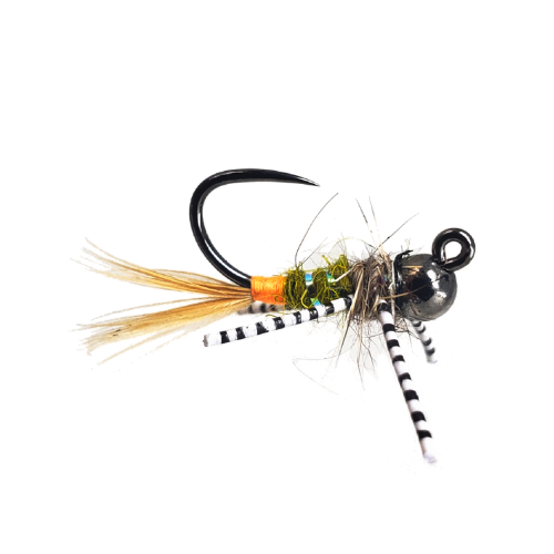 Czech Nymph Flies with Semtex size 10//12 For Fly Fishing 18 Pack Mixed Colours